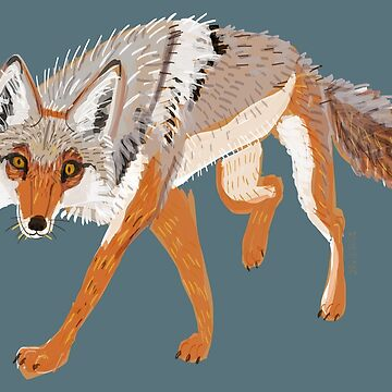 Totem Coyote by belettelepink