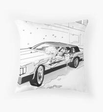 Brooklyn Cadillac Throw Pillow