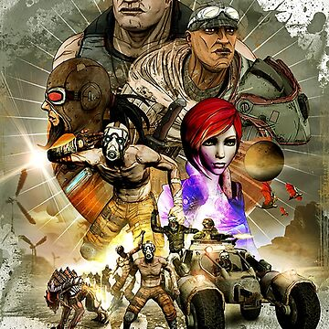 Borderlands by rubiohiphop
