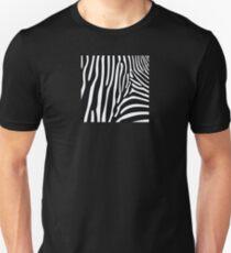 Zebra Print Unisex T-Shirt