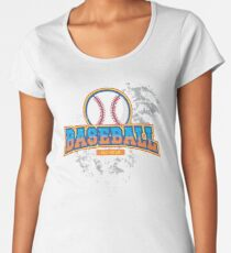 Baseball All-star Women's Premium T-Shirt