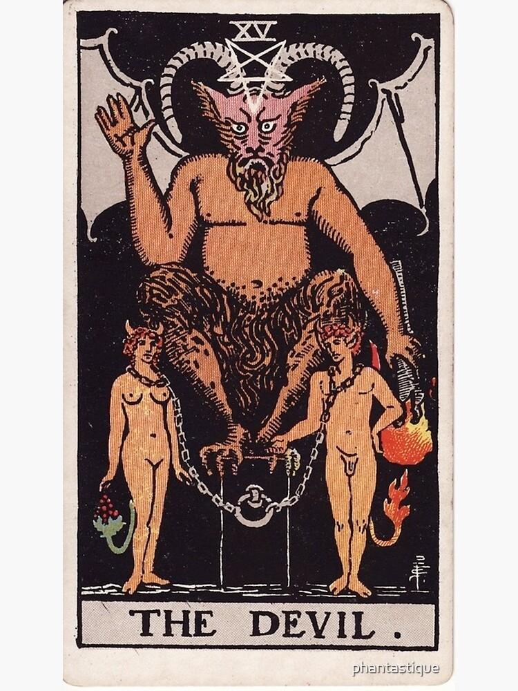 The Devil Tarot by phantastique