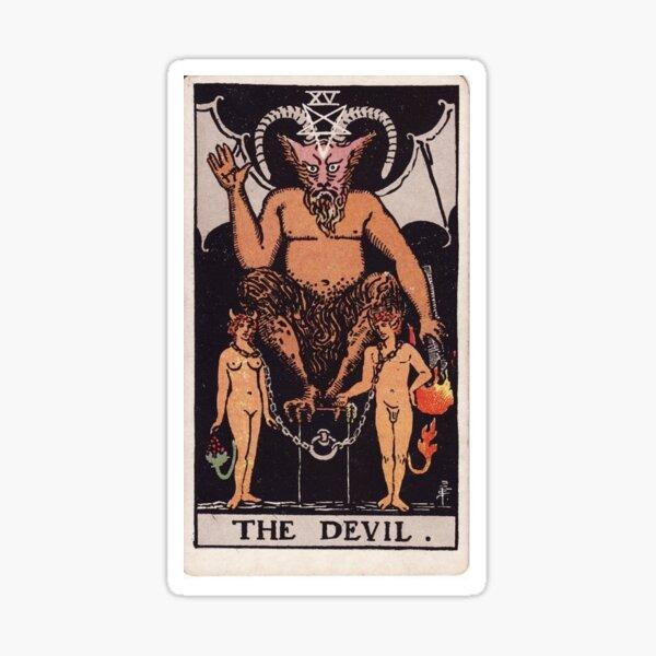 The Devil Tarot Sticker