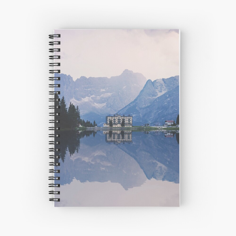 Grand Mountain Hotel - Dolomites Collection Spiral Notebook