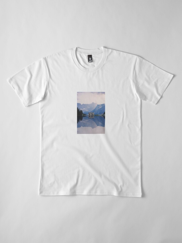 Alternate view of Grand Mountain Hotel - Dolomites Collection Premium T-Shirt