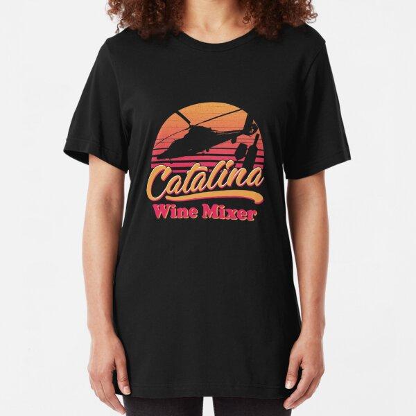 CATALINA WINE MIXER Slim Fit T-Shirt