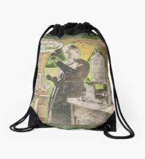 Popular Science: Marie Curie (distressed) Drawstring Bag