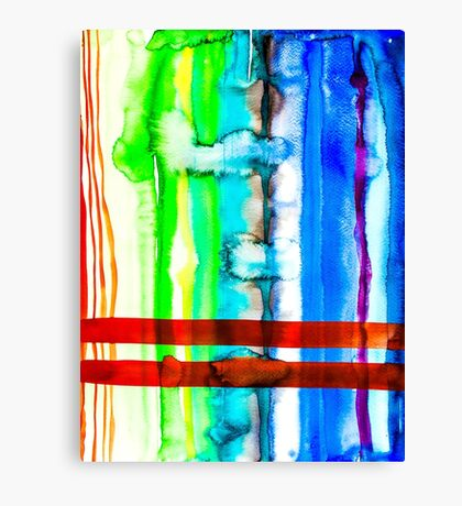 BAANTAL / Lines #4 Canvas Print