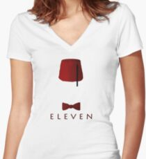 Eleven Women's Fitted V-Neck T-Shirt