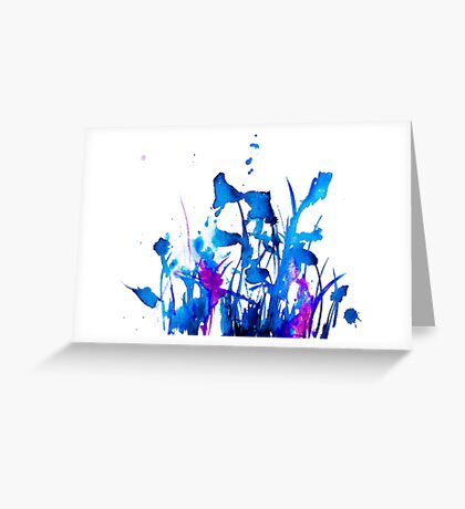 BAANTAL / Field #2 Greeting Card
