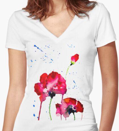 BAANTAL / Pollinate / Evolution #12 Fitted V-Neck T-Shirt