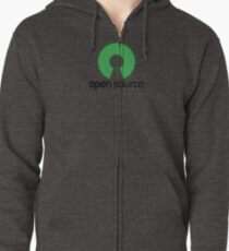 Open Source Zipped Hoodie