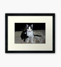 Tully & Winnie Framed Print
