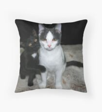 Tully & Winnie Throw Pillow
