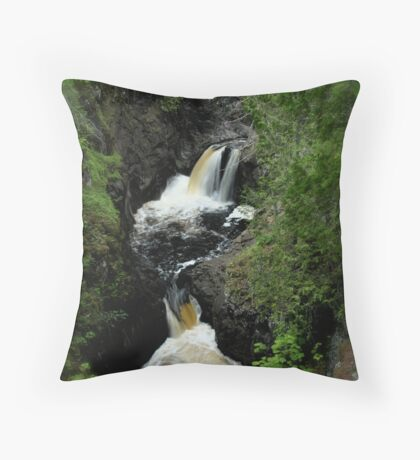 Double Fall Throw Pillow
