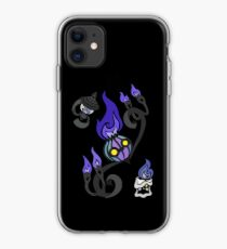 Flames of the Forgotten - Chandelure, Lampent and Litwick iPhone Case