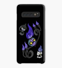 Flames of the Forgotten - Chandelure, Lampent and Litwick Case/Skin for Samsung Galaxy