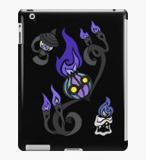 Flames of the Forgotten - Chandelure, Lampent and Litwick iPad Case/Skin