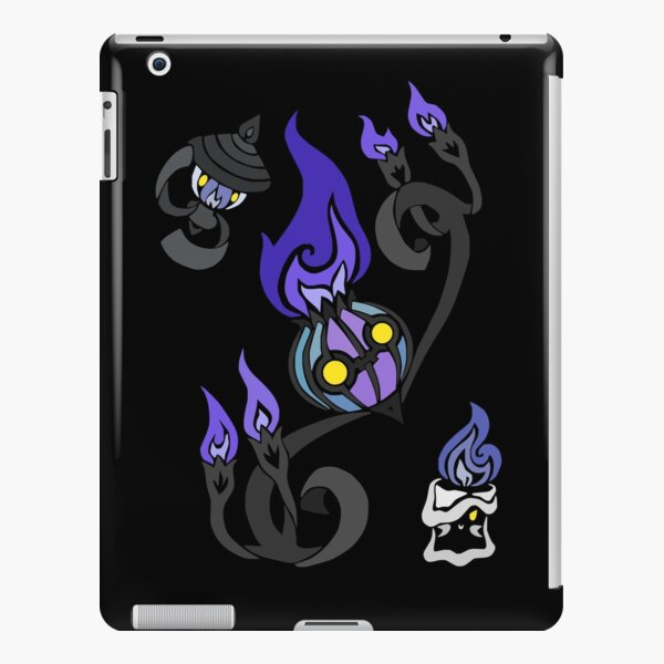 Flames of the Forgotten - Chandelure, Lampent and Litwick iPad Snap Case