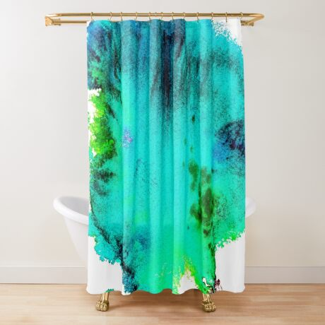 BAANTAL / Patch #11 Shower Curtain