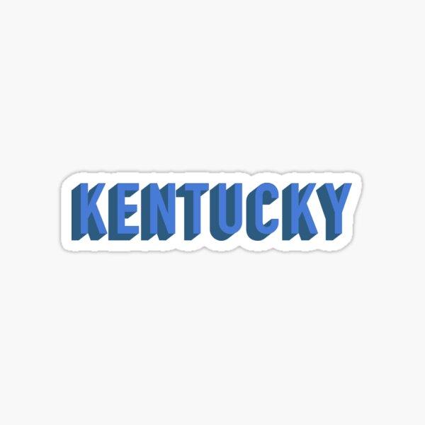Retro Kentucky Sticker