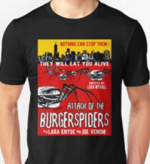 Attack of the burgerspiders Unisex T-Shirt