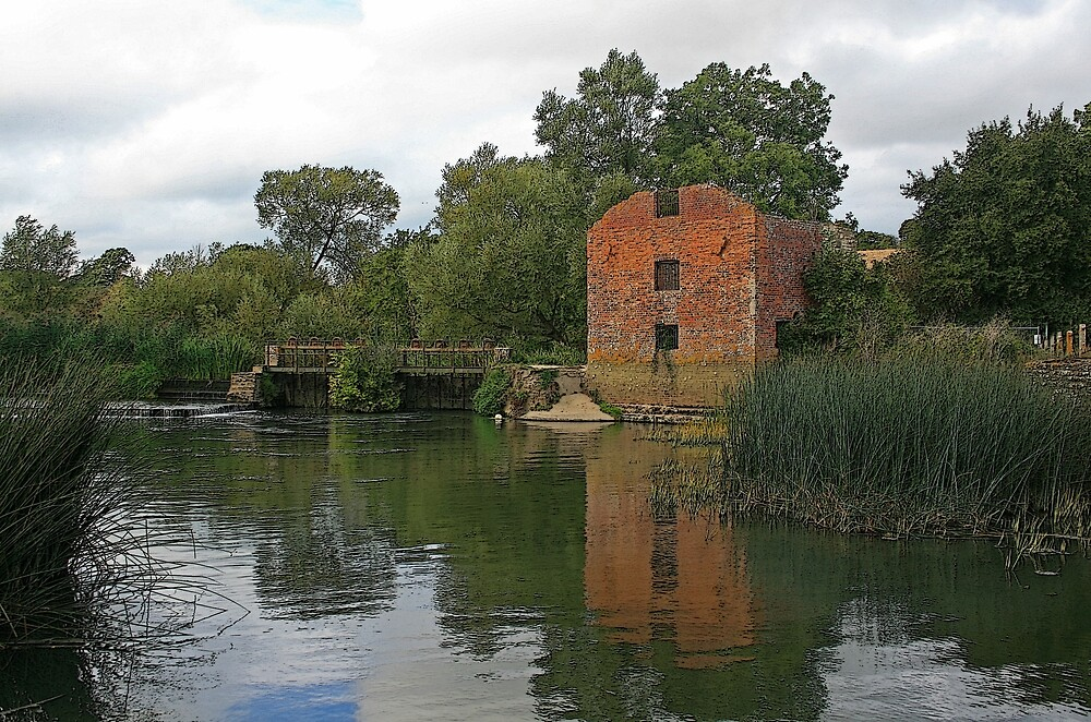 Stour Valley Way: Cutt Mill, Hinton St Mary by RedHillDigital