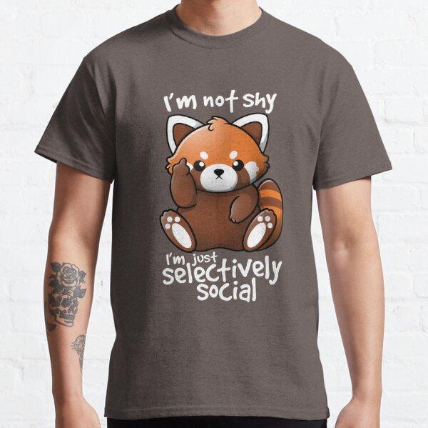 Shy red panda Classic T-Shirt