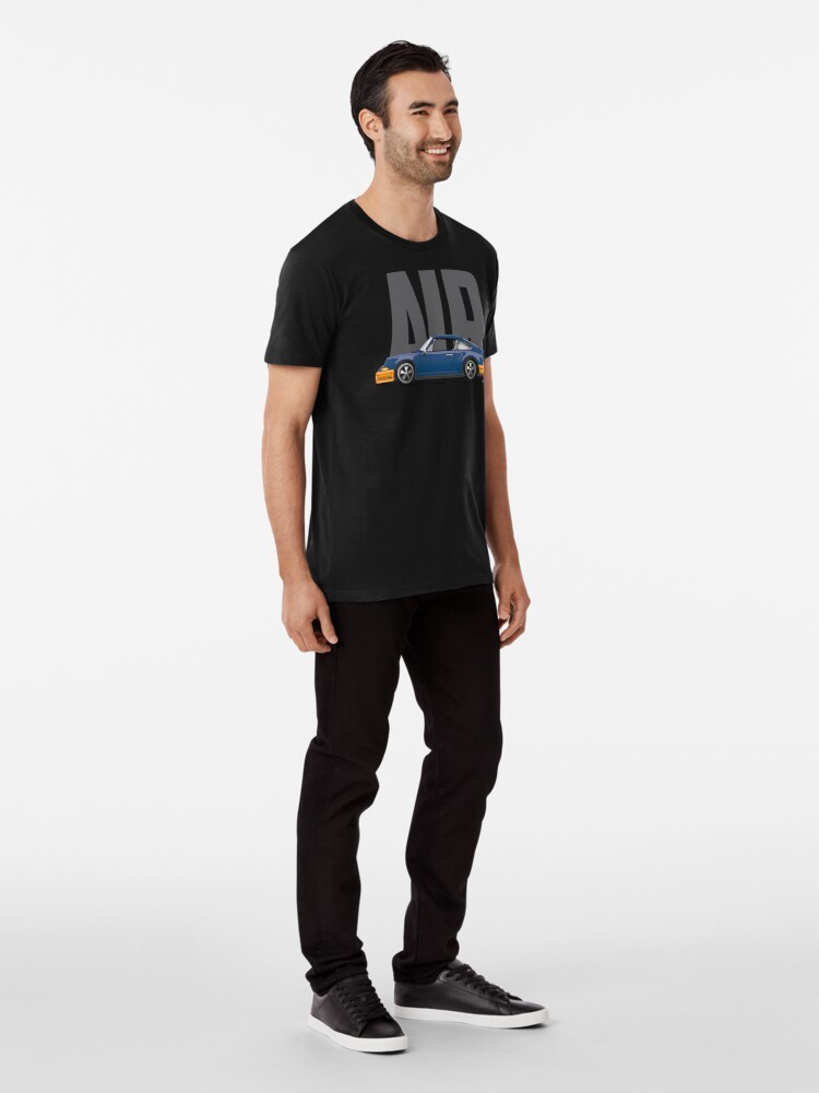 Alternate view of Air-Blue Premium T-Shirt