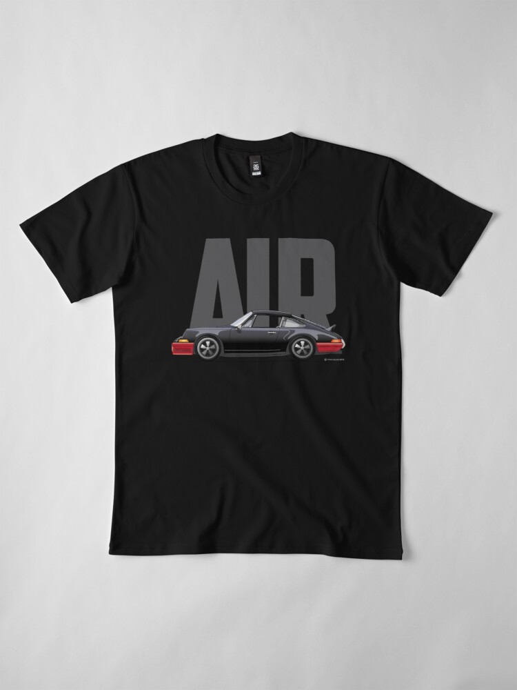Alternate view of Air-Black Premium T-Shirt