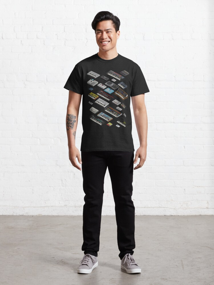 Alternate view of Synthesizer Fan Collection Classic T-Shirt