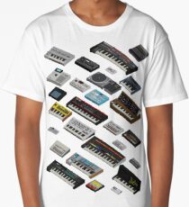 Synthesizer Fan Collection Long T-Shirt