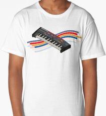 synthesizer juno106 isometric chorus Long T-Shirt