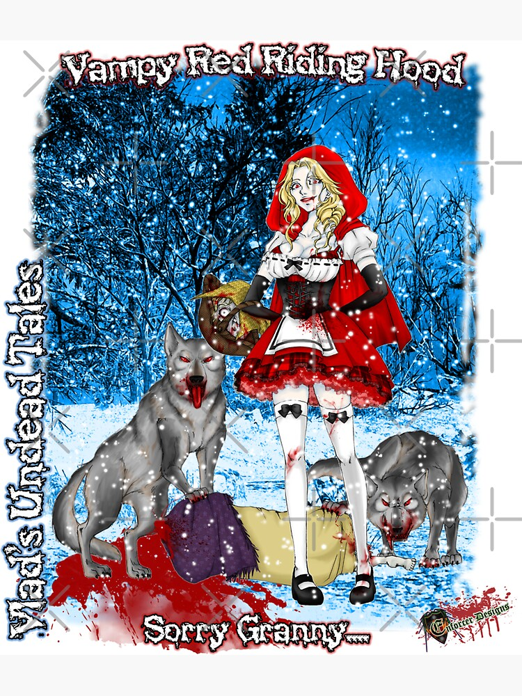 Undead Tales: Vampire Red Riding Hood by EnforcerDesigns