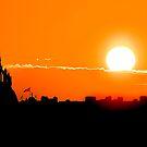Edinburgh Sunset by Stuart Robertson Reynolds