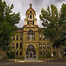 Deer Lodge County Court House by Bryan D. Spellman