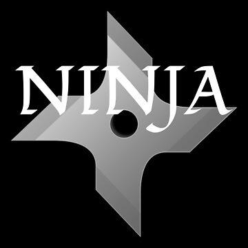 Ninja throwing star by kailukask