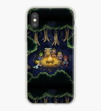 Chrono Camping Pixels iPhone Case