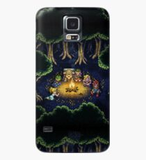 Chrono Camping Pixels Case/Skin for Samsung Galaxy