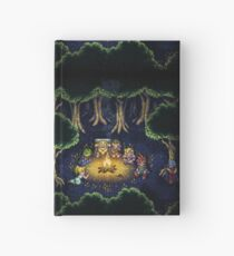 Chrono Camping Pixels Hardcover Journal