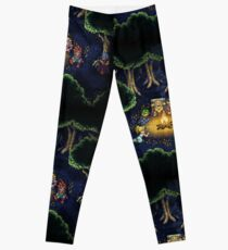 Chrono Camping Pixels Leggings