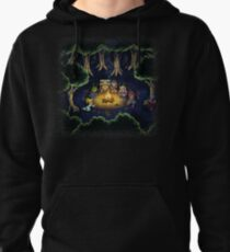 Chrono Camping Pixels Pullover Hoodie