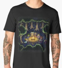 Chrono Camping Pixels Men's Premium T-Shirt