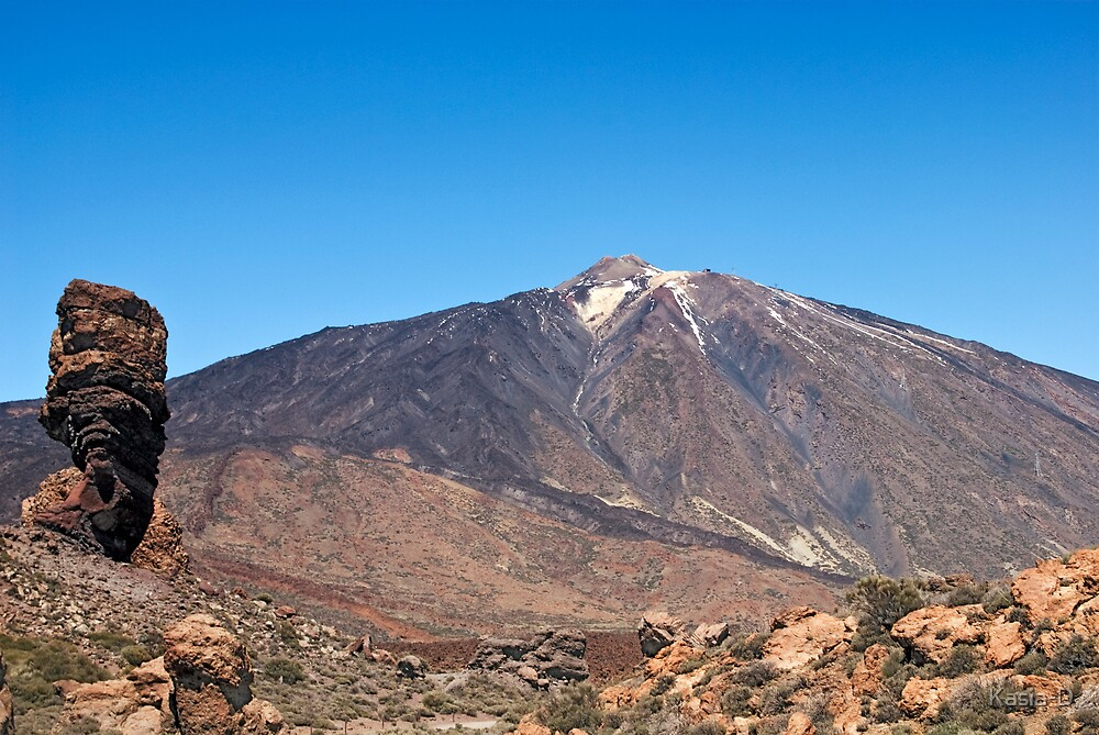 El Teide: Roques de Garcia by Kasia-D