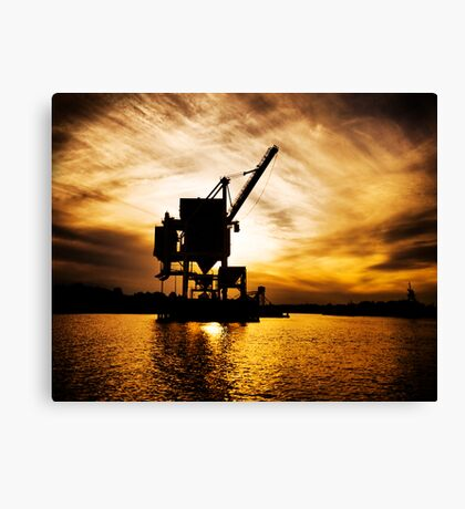 Industrial Nature Canvas Print