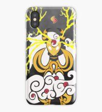 Tribalish Mega Ampharos - Eye of the Storm iPhone Case
