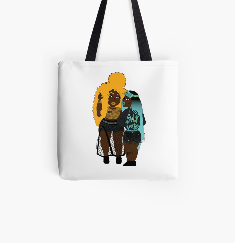 Colour My Melanin All Over Print Tote Bag