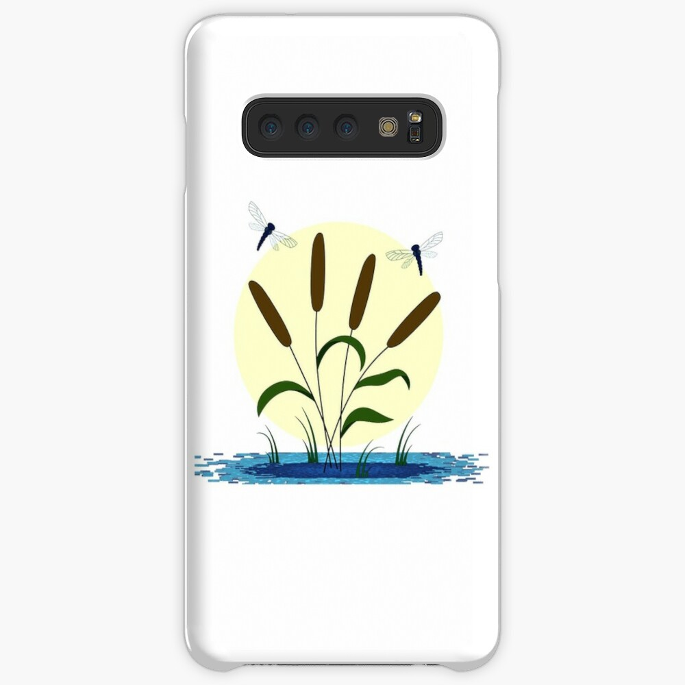 Cattails and Dragonflies Case & Skin for Samsung Galaxy