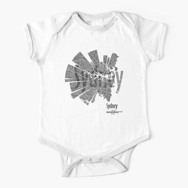 Sydney Karte Baby Body Kurzarm