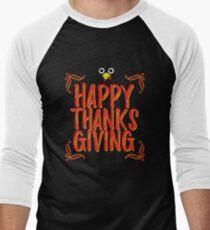 Thanks Giving T-shirt Men's Baseball ¾ T-Shirt